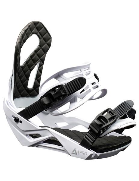 Snowboard Bindung Srong W White Matt