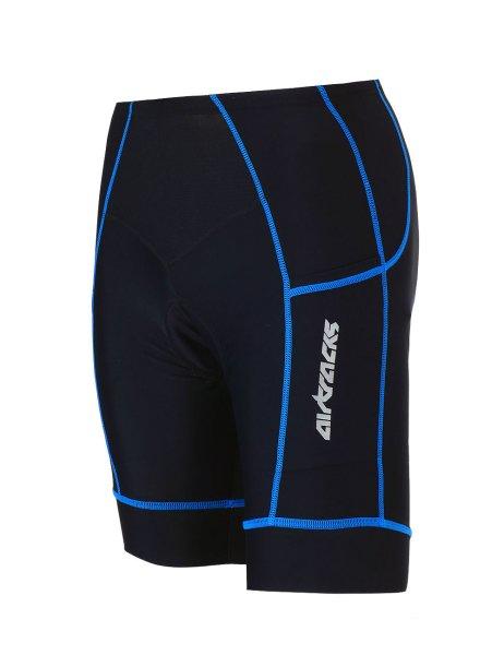 Fahrradhose Kurz Pro Schwarz Blau