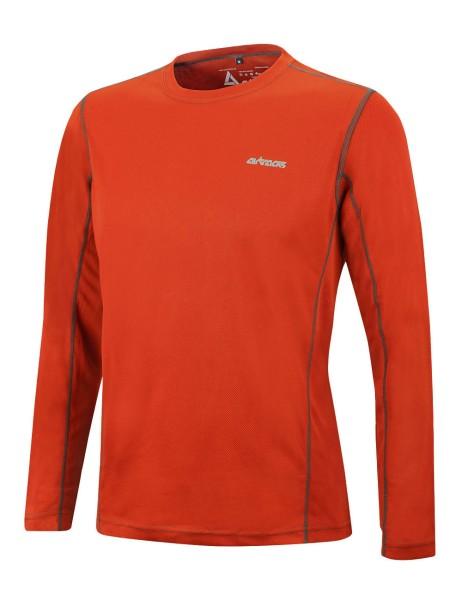 Für Funktions Pro Air Running Orange L Langarm Shirt T Laufshirt rSz7x5qwr