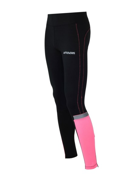 Damen Winter Thermo Lauftight Lang Pink