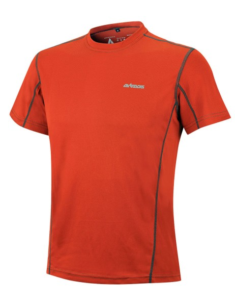 Funktions Laufshirt Kurzarm Pro Air Orange