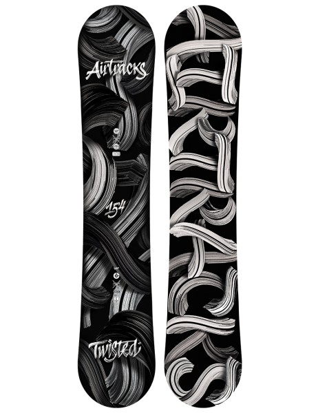 Snowboard Set Twisted Zero Rocker Wide