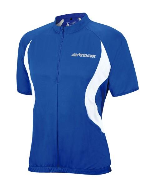 Fahrradtrikot Kurzarm Team Blau