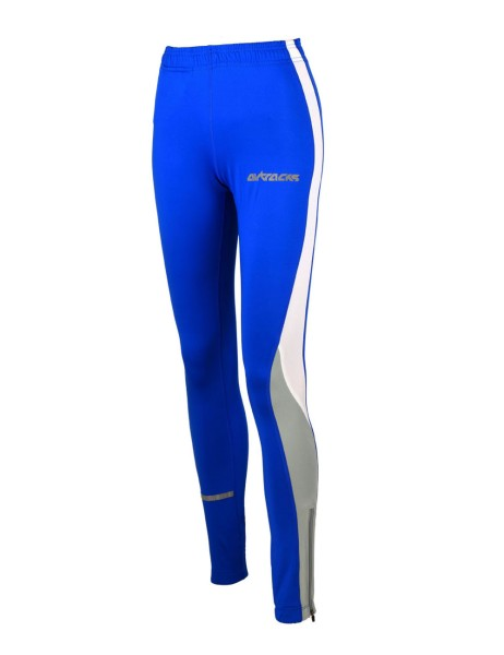 Damen Thermo Laufhose Tight Lang Royal Blau