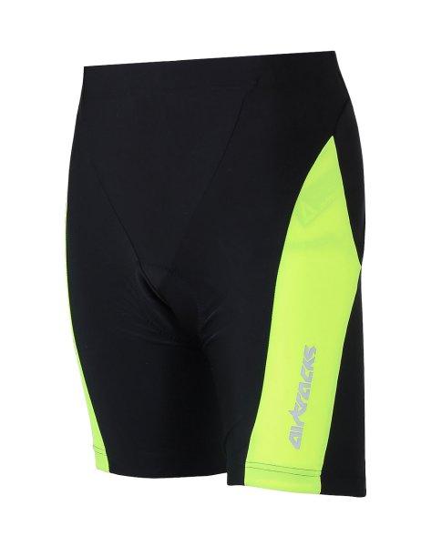 Fahrradhose Kurz Pro T Schwarz Neon