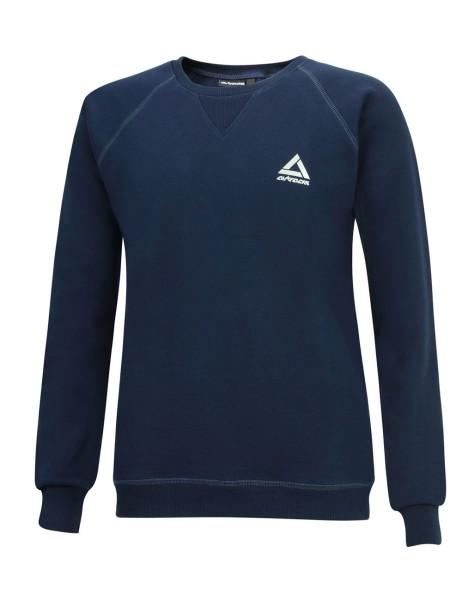 Winter Sweatshirt Crew Pro Line mit Kapuze Navy-Blau Set