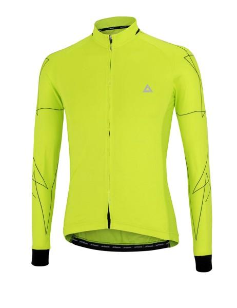 Fahrradtrikot Langarm Pro Line  Neon