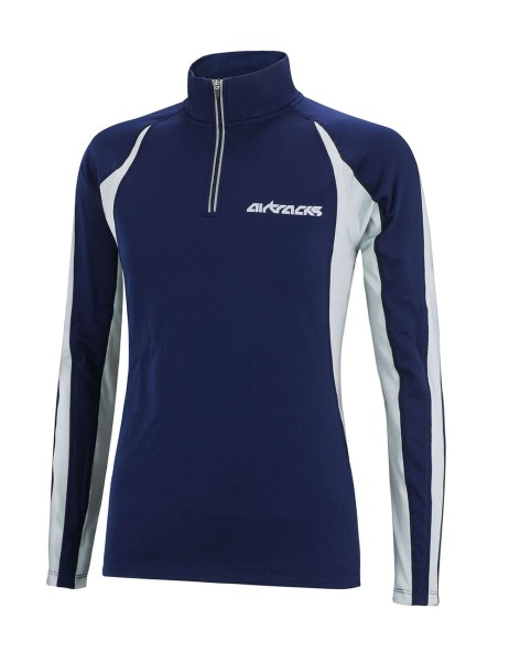 Winter Thermo Funktions Sweatshirt Pro Blau