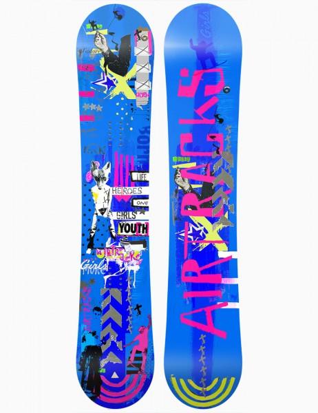 Snowboard Zero Flat Rocker Freeride Freestyle