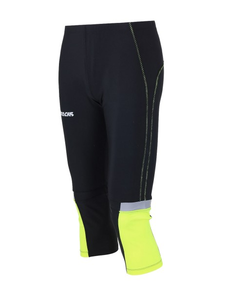 Laufhose Tight 3/4 Lang Neon