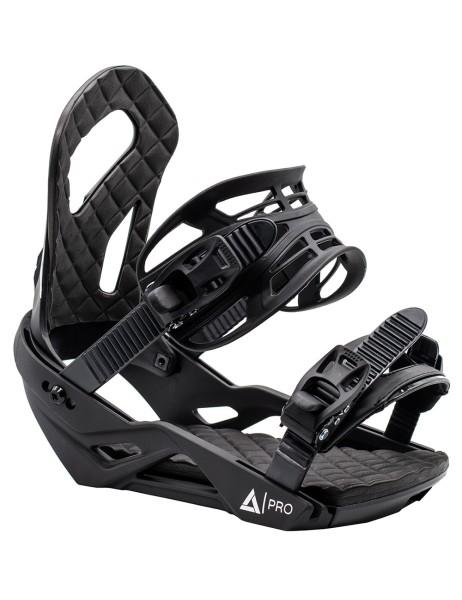 Snowboard Bindung Strong Black Matt