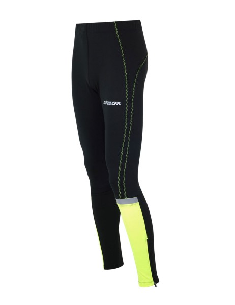 Laufhose Tight Lang Neon