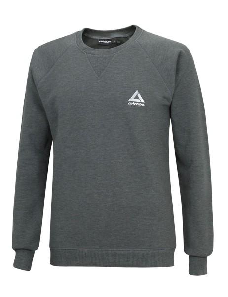 Winter Sweatshirt Crew Comfort Line Dunkel Melange