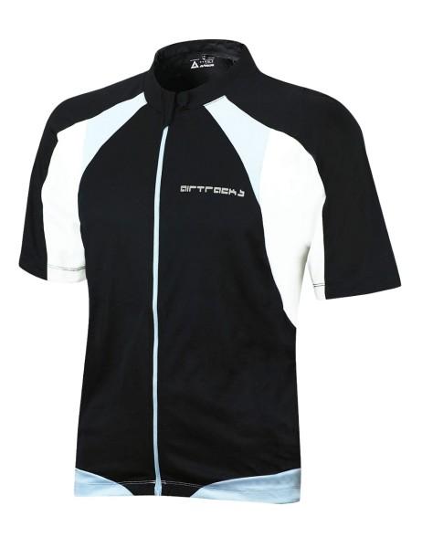 Fahrradtrikot Kurzarm Pro T Schwarz
