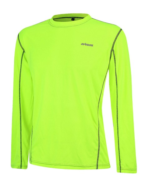 Funktions Laufshirt Langarm Pro Air Neon