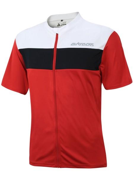 Fahrradtrikot Kurzarm Pro Air Rot