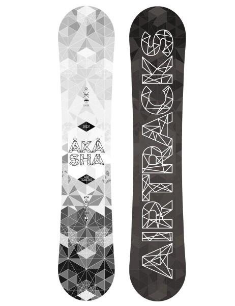 Akasha Snowboard Wide Rocker