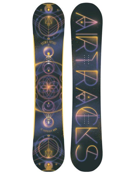 Snowboard Set Cosmic Voyage Wide Rocker