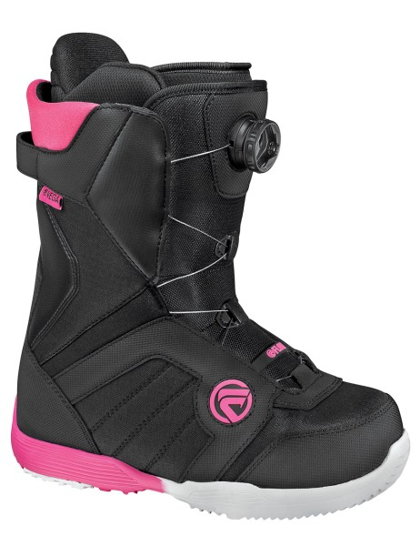 Flow Vega Boa Lady Black/Pink