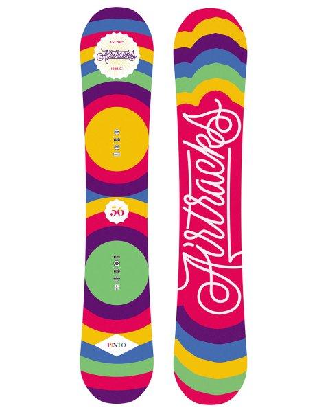 Damen Snowboard Zero Flat Rocker Freeride Freestyle