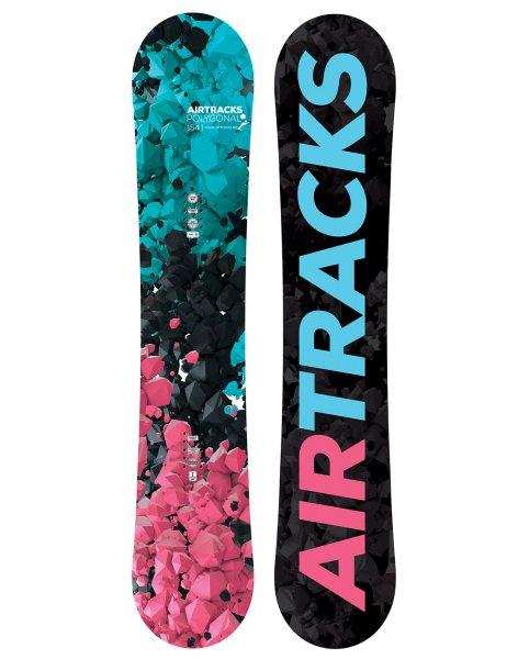 Damen Snowboard Hybrid Rocker Freeride Freestyle