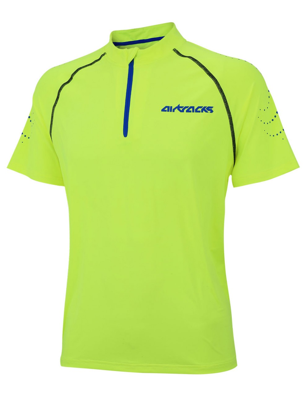 Genieße den reduzierten Preis wie man wählt exzellente Qualität Kompressions Laufshirt Kurzarm Pro Team Neon