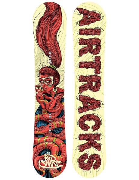 Red Snake Snowboard Rocker