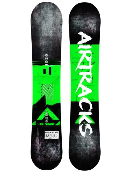 Herren Snowboard Breath Wide Zero Flat Rocker 152 156 161 cm