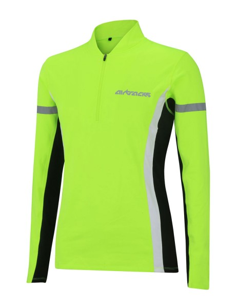 Damen Thermo Funktions Sweatshirt Neon